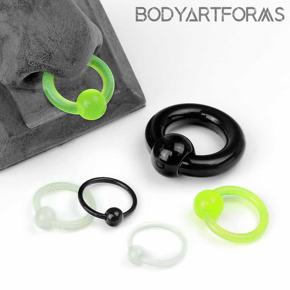 Acrylic Captive Bead Ring