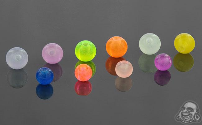 Glow in the Dark Threaded Ball
