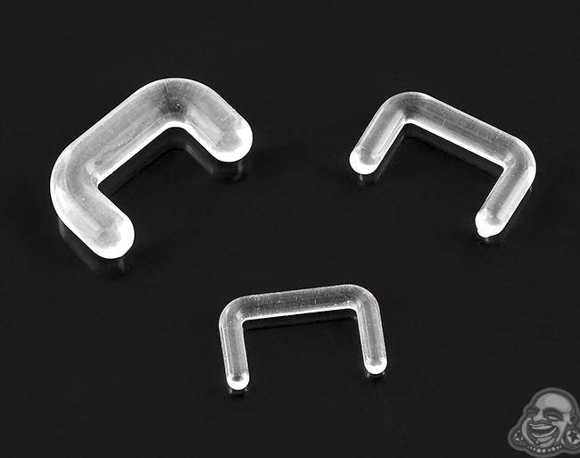 Acrylic Staple Septum Retainer