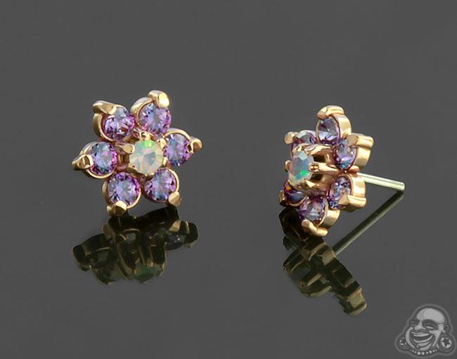 lilac/opal