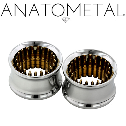 PRE-ORDER Steel Eyelets with Bronze Bullets