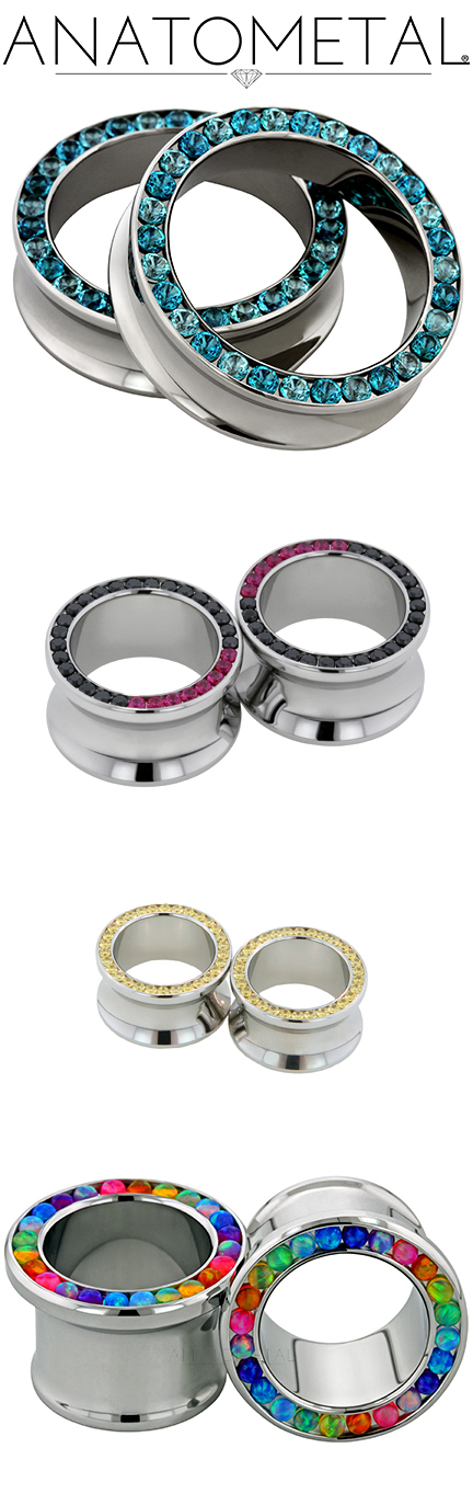 PRE-ORDER Steel Gemmed Eyelet