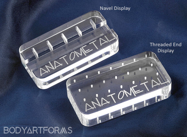 Anatometal Storage Displays