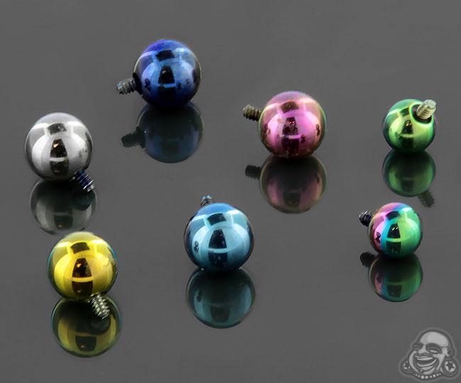 Internally Threaded Titanium Ball
