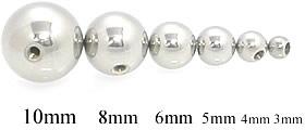 Threaded Steel Ball