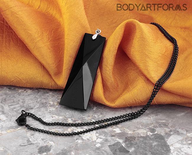 Black Monument Necklace