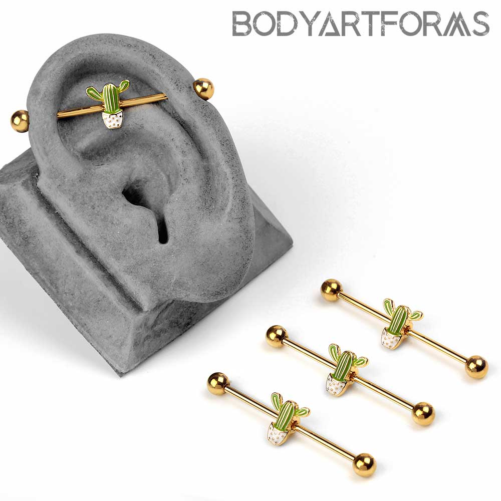 Cactus Industrial Barbell