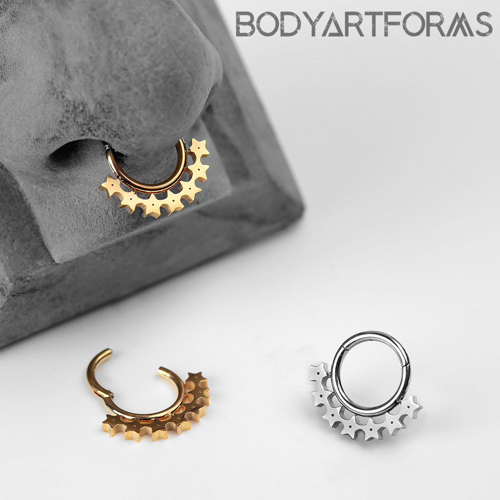 Celestial Star Septum Clicker