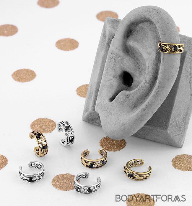 CZ Vine Ear Cuff
