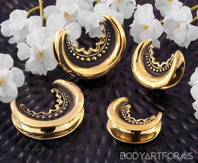 Brass Decor Saddle Design