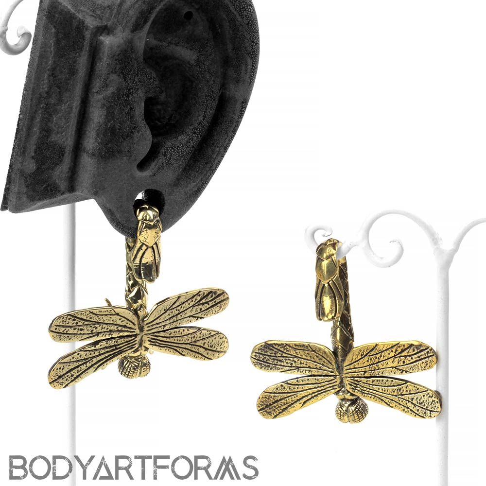 Brass Dragonfly Weights