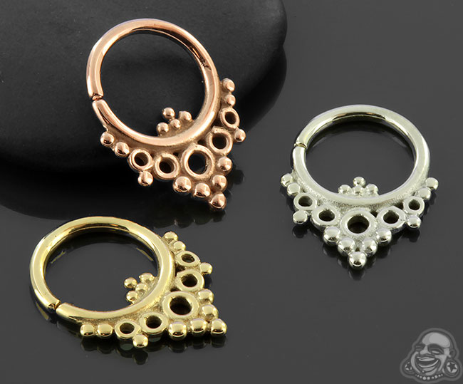 Goldendaze Septum Seamless Ring
