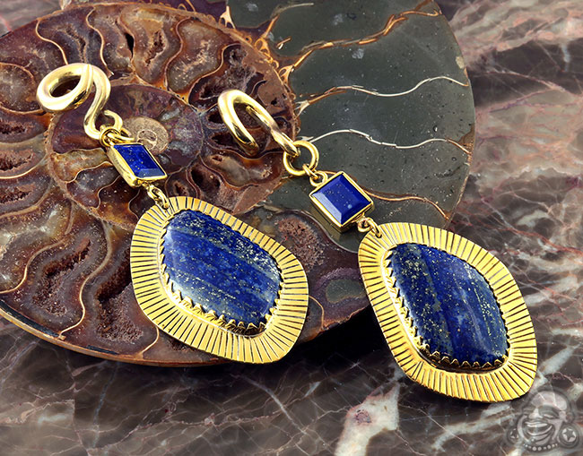 Solid Brass and Double Lapis Weights