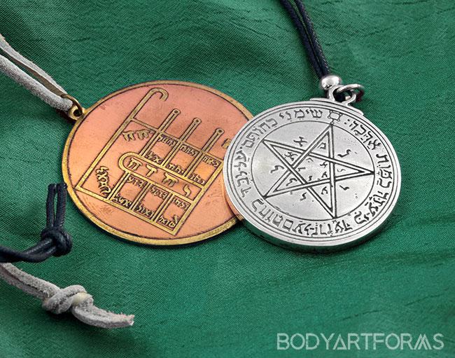 Kabbalistic Seal Amulet Set