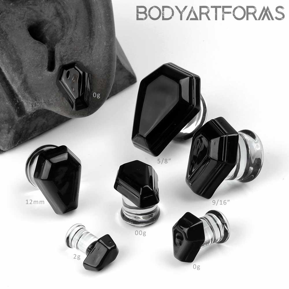 Glass Coffin Plugs