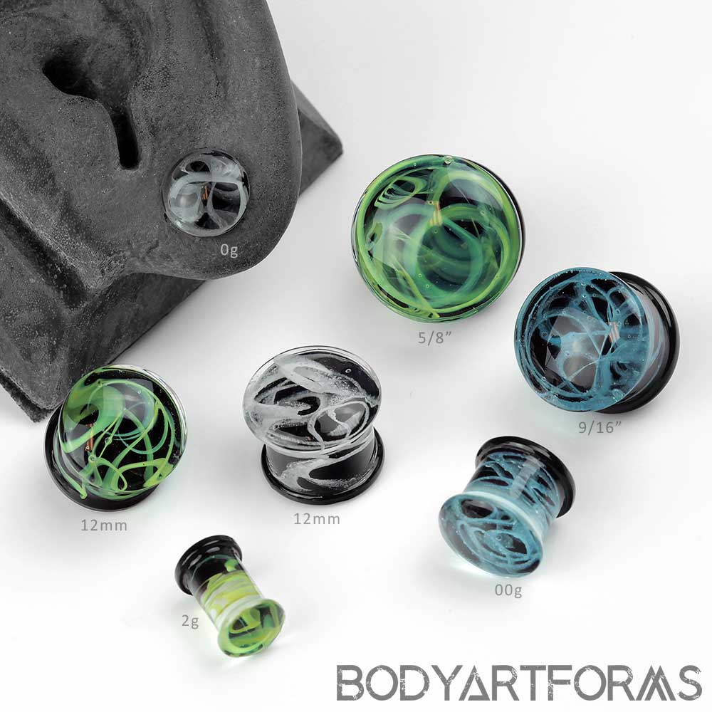 Glass Marble Plugs
