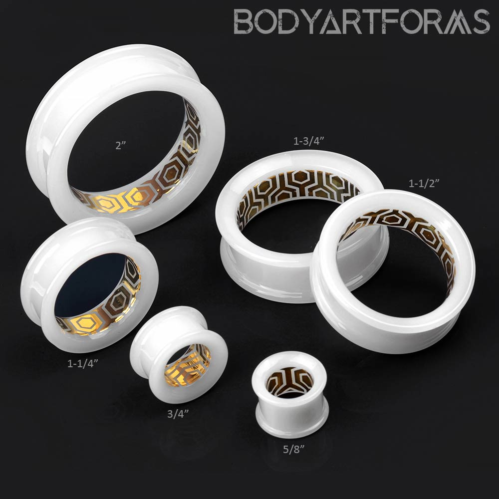 Glass Honeycomb Labyrinth Eyelets