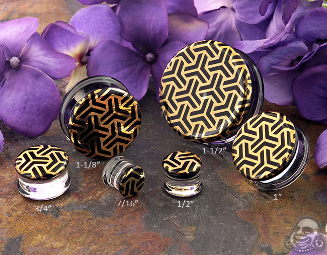 Pyrex Glass Bishamon Kikko Plugs