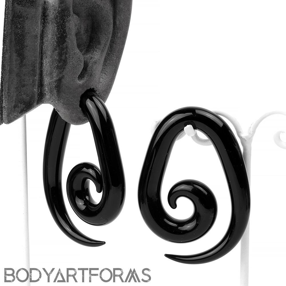 Pyrex Glass Spiral Weights
