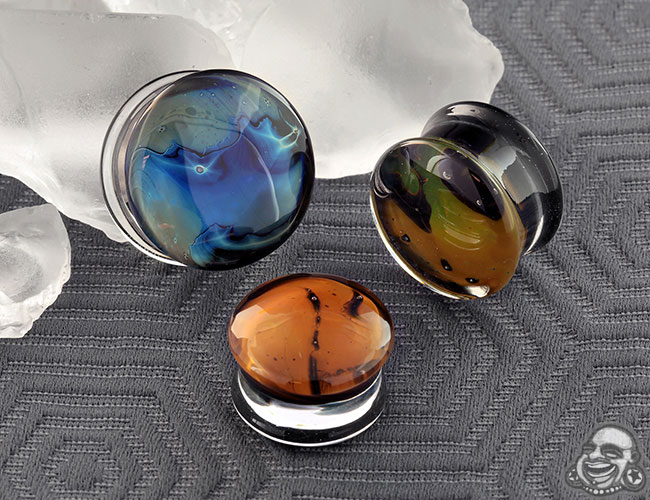 Glass Gaia Plugs