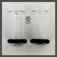 PRE-ORDER Clear Conch Pyrex Glass Eyelet