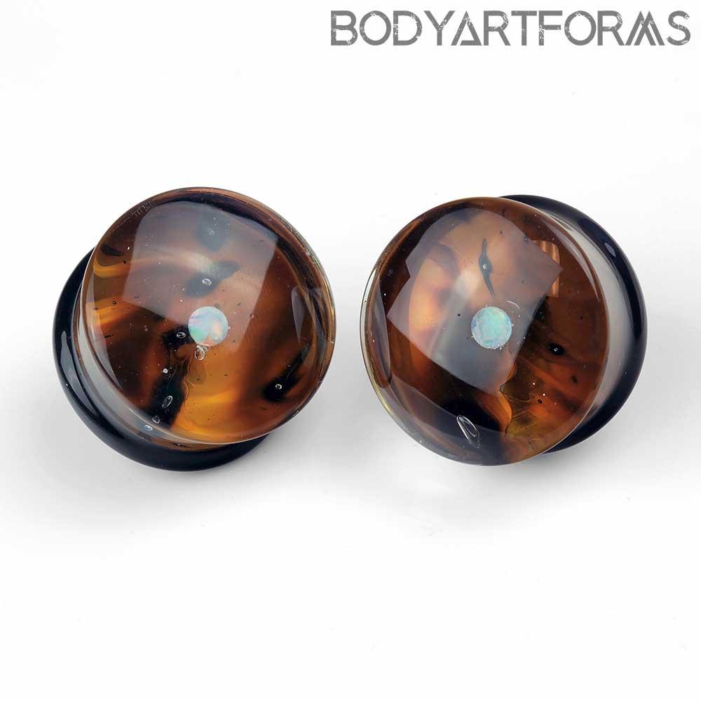 Pyrex Glass Opal Gaia Plugs