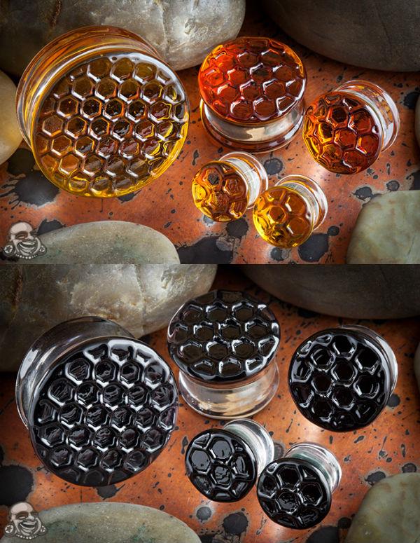 PRE-ORDER Honeycomb Texture Plug