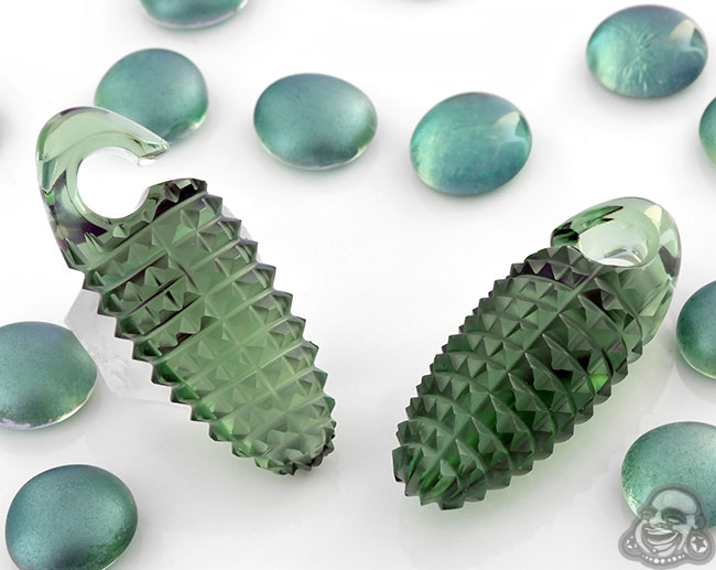 Glass Drilo Cocoon Weights