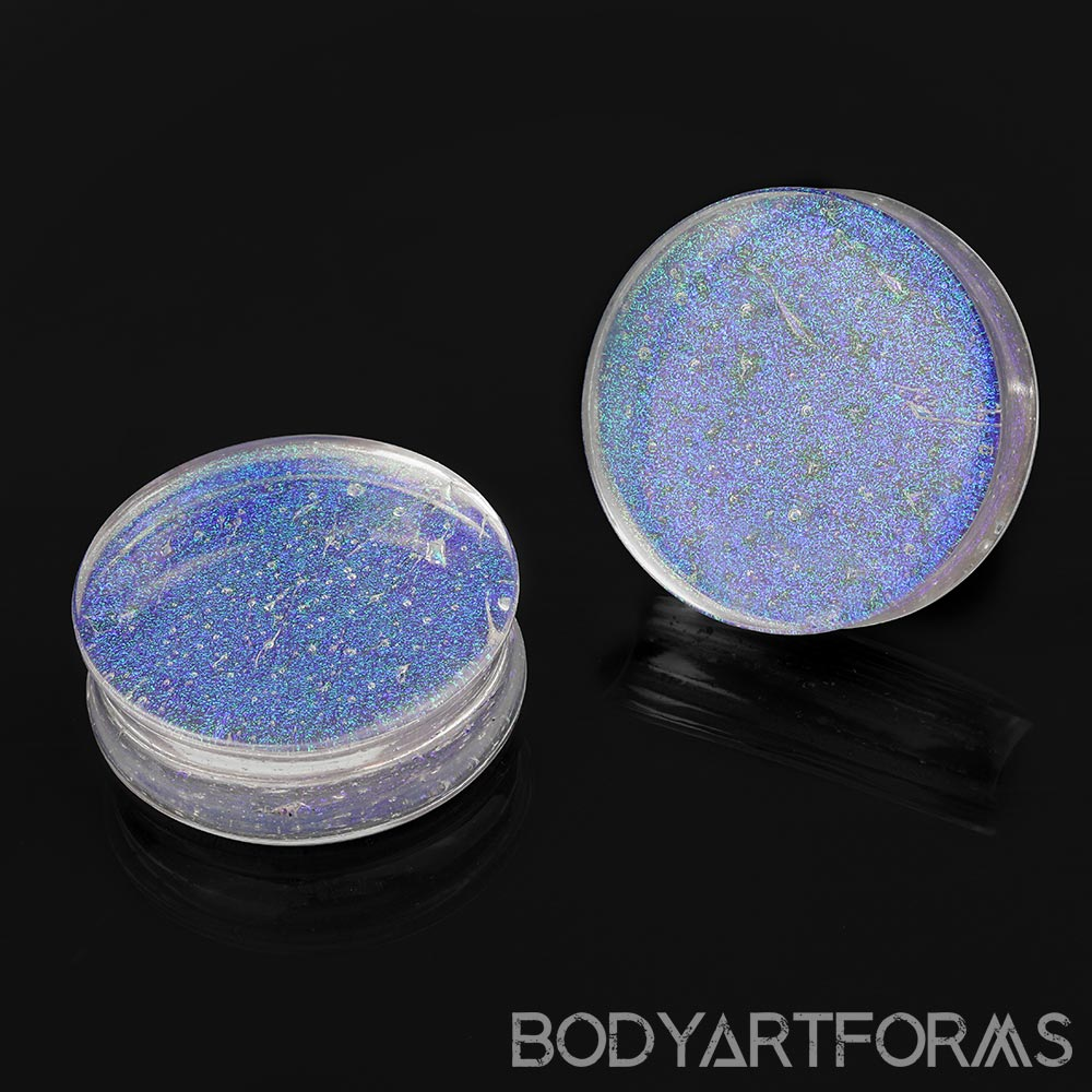 Glass Green and Blue Trichroic Plugs