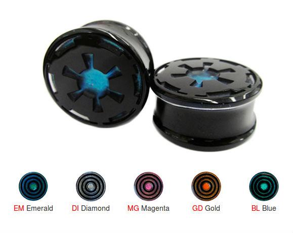 PRE-ORDER Dichroic Imperial Plugs