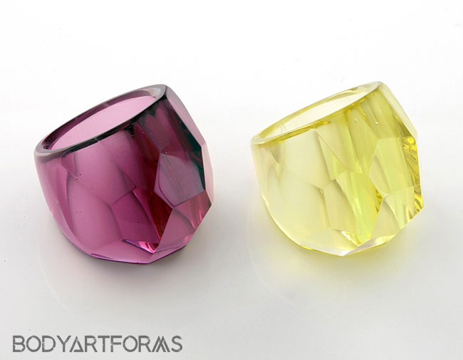 Pyrex Glass Bling Ring