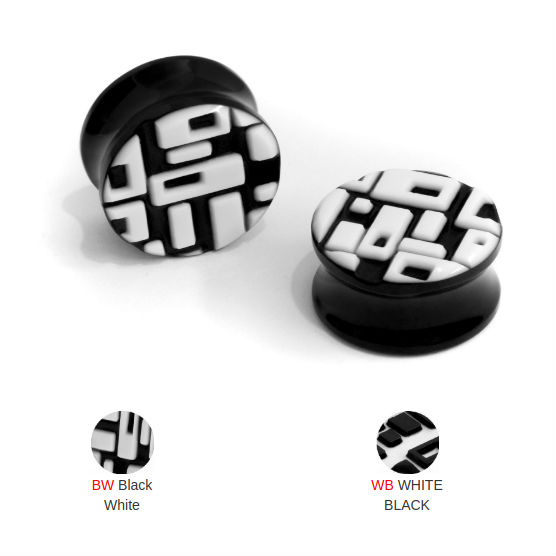 PRE-ORDER Retro Glass Plugs