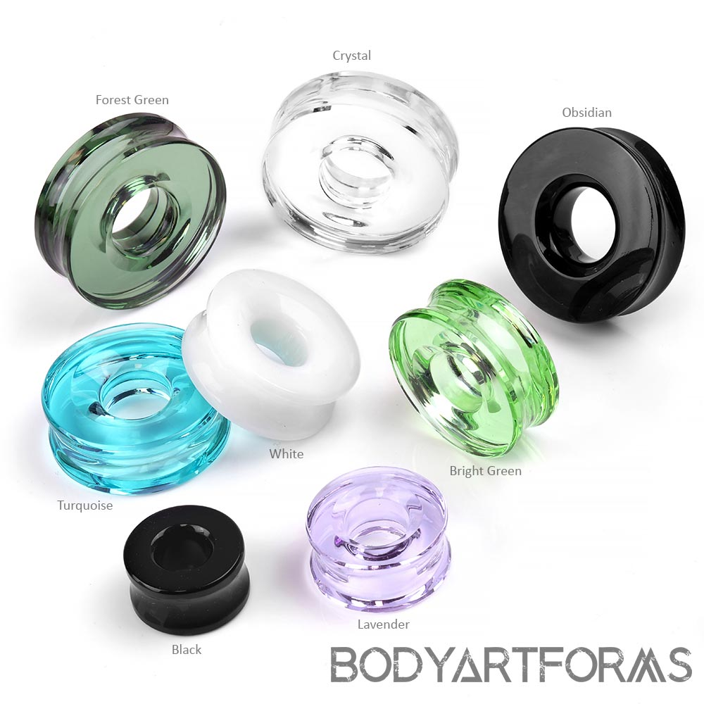 Glass Solid Color Eyelets