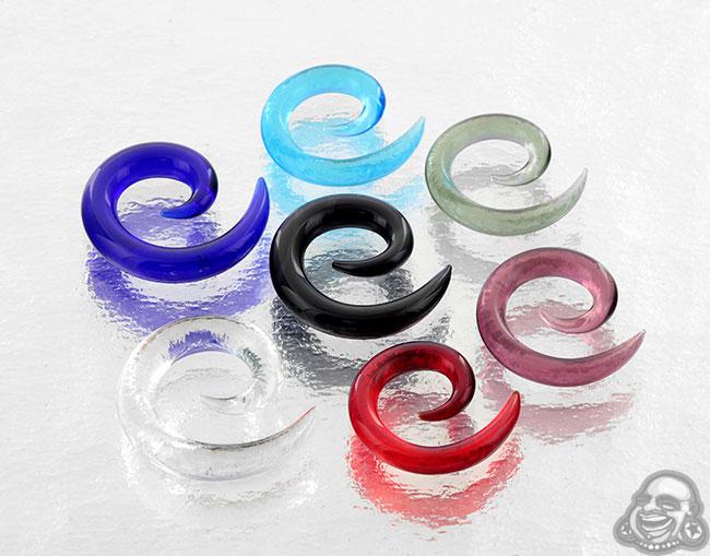 Glass Spirals