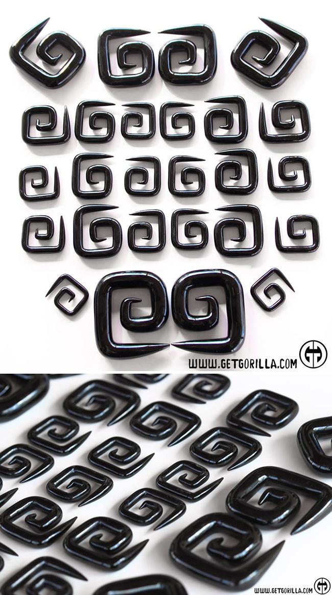 PRE-ORDER Glass Square Spiral