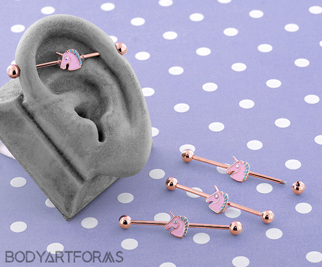 Magical Unicorn Industrial Barbell