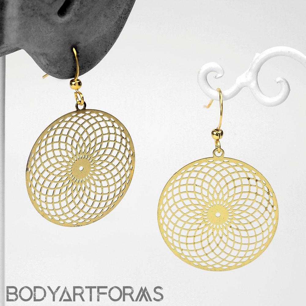 Hypnotic Eye Dangle Earrings