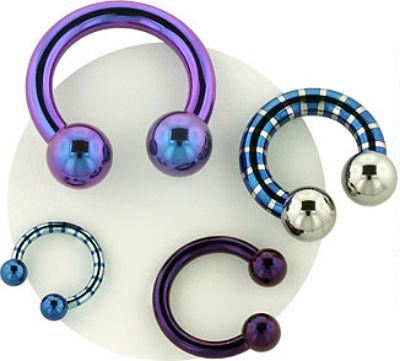 PRE-ORDER Titanium Circular Barbell