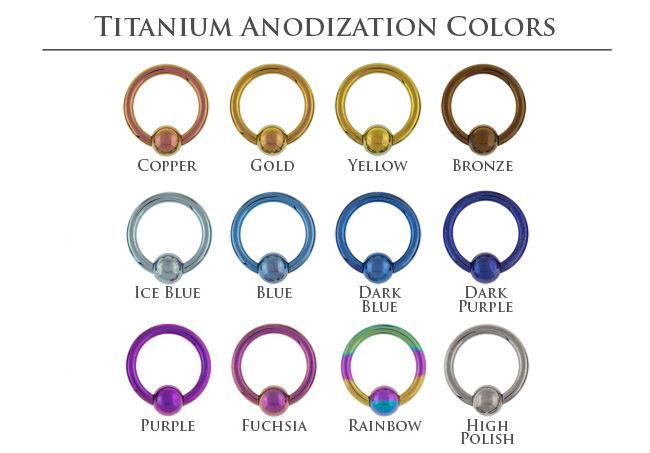Pre Order Titanium Threadless Bezel Set Opal End