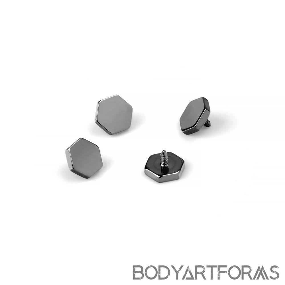 Titanium Hexagon Internally Threaded End