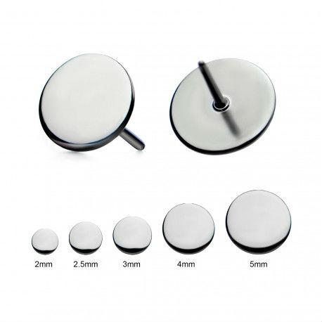 PRE-ORDER Titanium Threadless Disc End