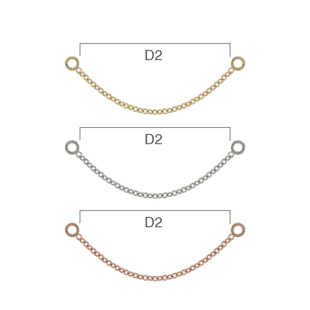 PRE-ORDER 14K Gold Cavo I Chain