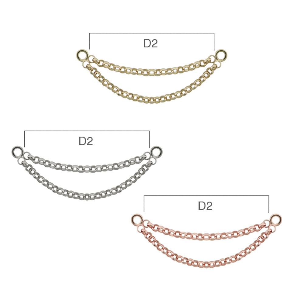 PRE-ORDER 14K Gold Kolo II Chain