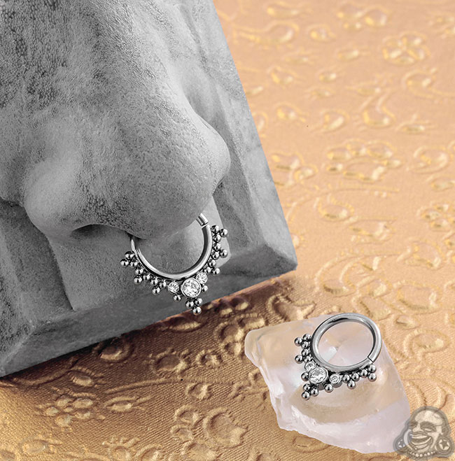 Haute Couture Bijoux Seamless Rings