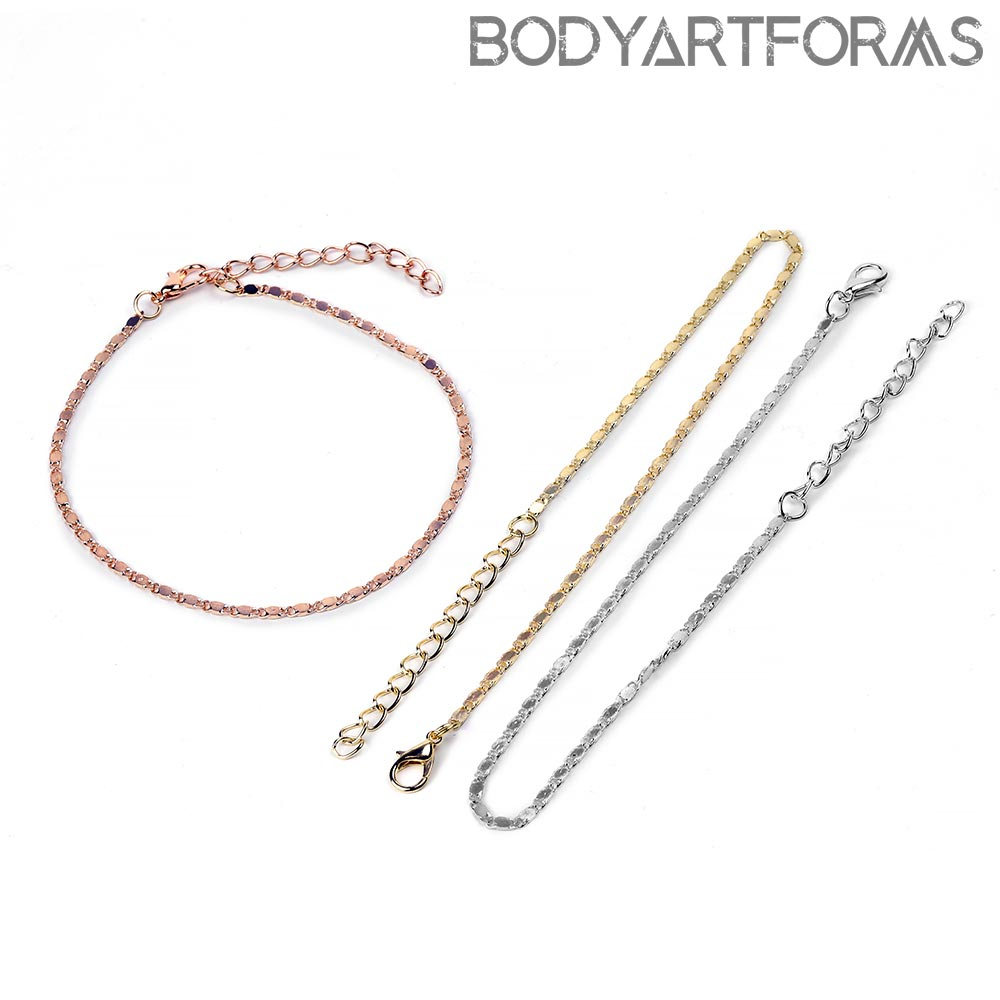 Flat Chain Anklet