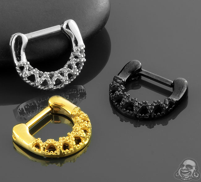 Geometric Loop Septum Clicker