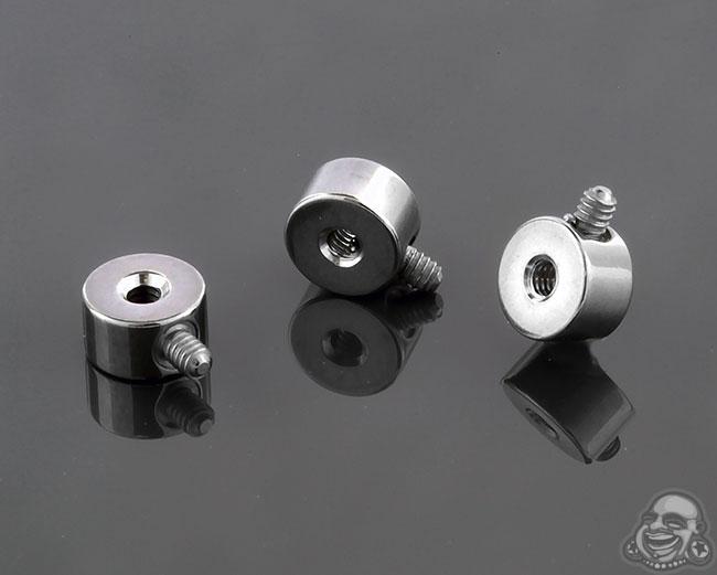 Titanium Threaded Attachment Disc