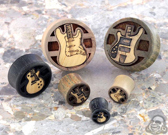 Wood Guitar Plugs