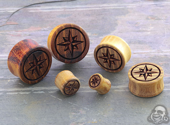 Osage Orange North Star Plugs