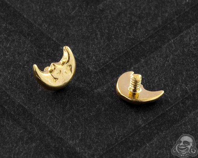 Gold Luna Threaded End